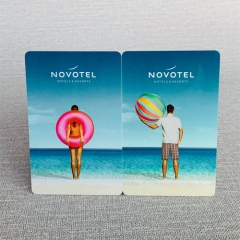 Customized Offset Printing hotel magnetic key card plastic rfid hotel key card