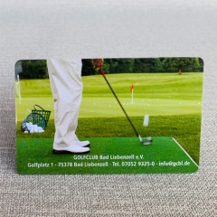 Best Selling CMYK Printing Plastic PVC Membership Card  for Club
