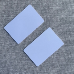 Standard White PVC Card, CR80, High Grade